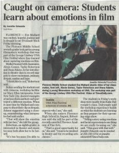 Times Daily Article About Me